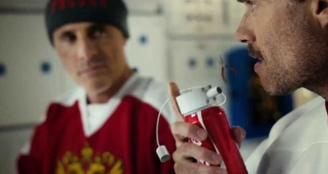 Publicité Coca-Cola dans la Station Spatiale Internationale
