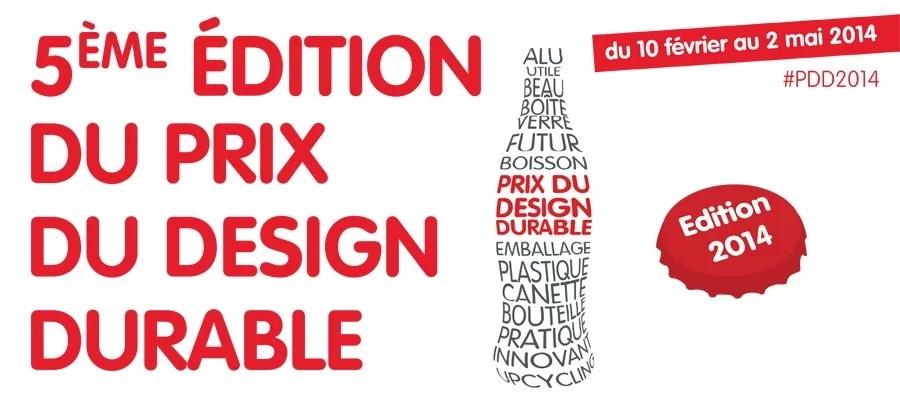 Lancement de la 5ème édition du Prix du Design Durable à l'initiative de Coca-Cola France