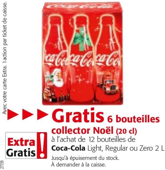 Bouteilles Collector offertes en Belgique