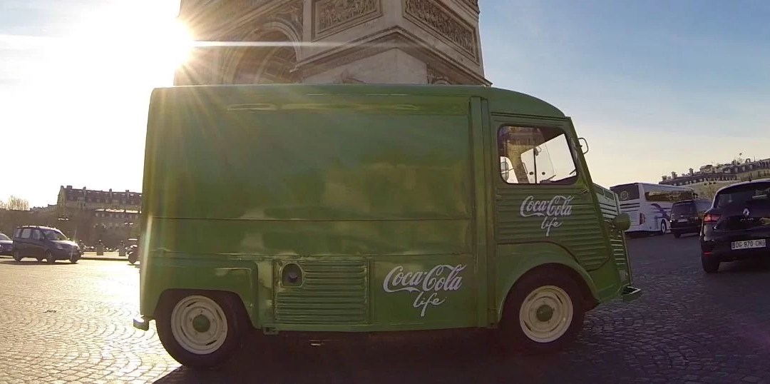 La vague verte Coca-Cola Life déferle sur la France
