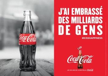 Coca-Cola - J'ai embrassé des milliers de gens