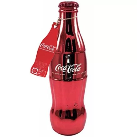 Coca-Cola 100 Years Limited Edition Red Bottle