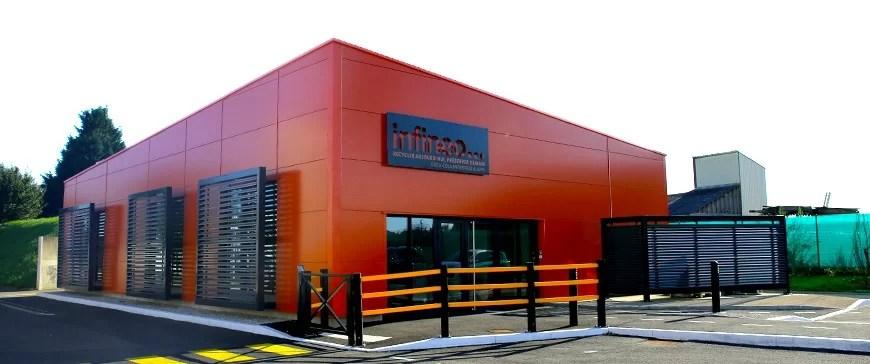 Infinéo, le centre de recyclage pédagogique par Coca-Cola