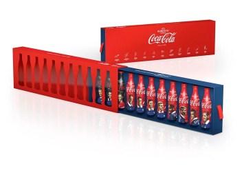 UEFA Euro 2016 : bouteilles Coca-Cola collector