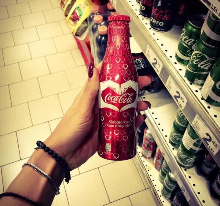 Une bouteille collector Coca-Cola en Roumanie
