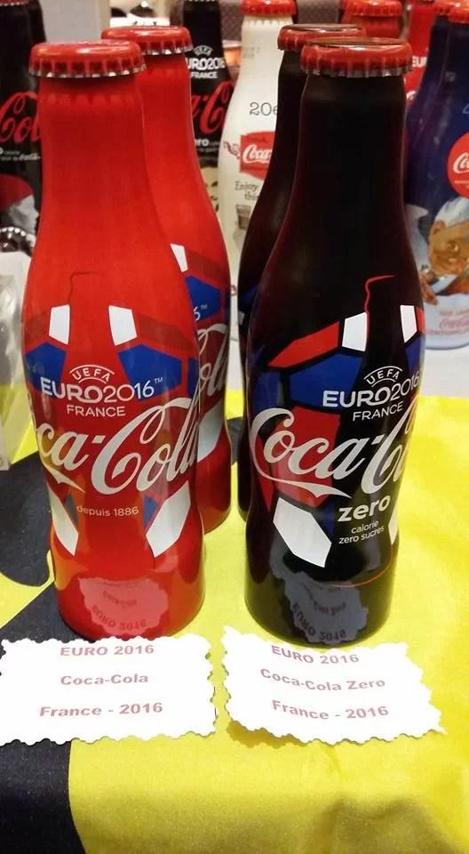 Bouteille collector Coca-Cola Euro 2016