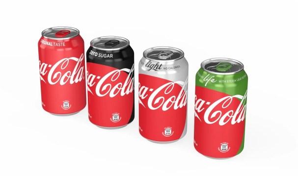 """Coca-Cola dévoile son nouvel emballage """"marque unique"""""""
