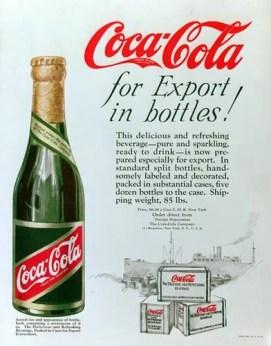 Publicité pour l'Export Bottle