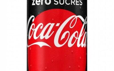 Le Coca-Cola zero devient le Coca-Cola zero sucres