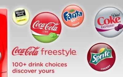 La machine Coca-Cola Freestyle arrive en France chez Five Guys