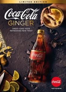 Coca-Cola au gingembre