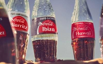 Cet été, partagez un Coca-Cola dans une ville !