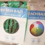セリアのビーチボールはキャラクターやイルカがかわいい!浮き輪もあるよ〜