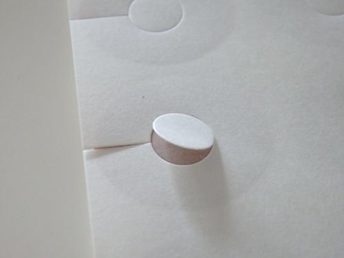 磁気治療器 貼り替えシール