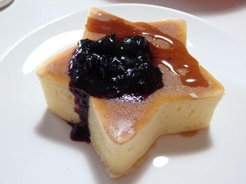 セリア ホットケーキ型 星