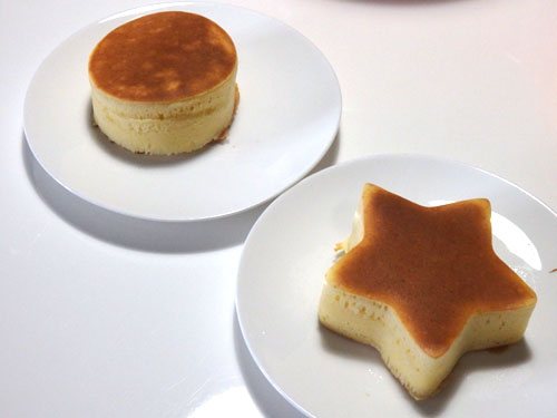 セリア シリコン型 ホットケーキ 厚焼き
