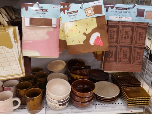 キャンドゥ チョコレート柄