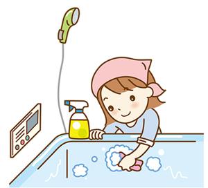 お風呂 掃除グッズ 100均