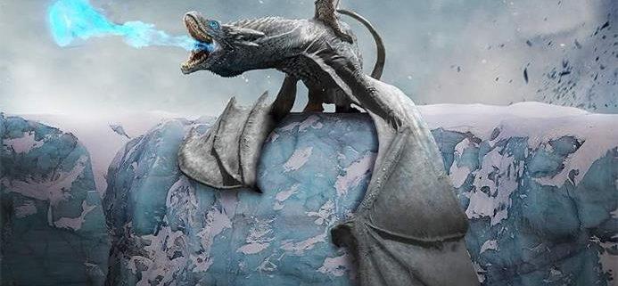 ¿Lo que ocurrió con Viserion, el querido dragón de Daenerys?