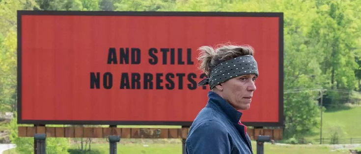"Critica a ""Three Billboards Outside Ebbing, Missouri"" (2017) de Martin McDonagh"