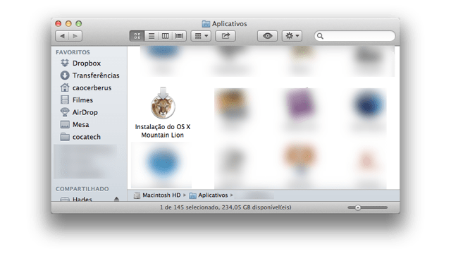 Photo of Cadê a instalação do Mountain Lion?