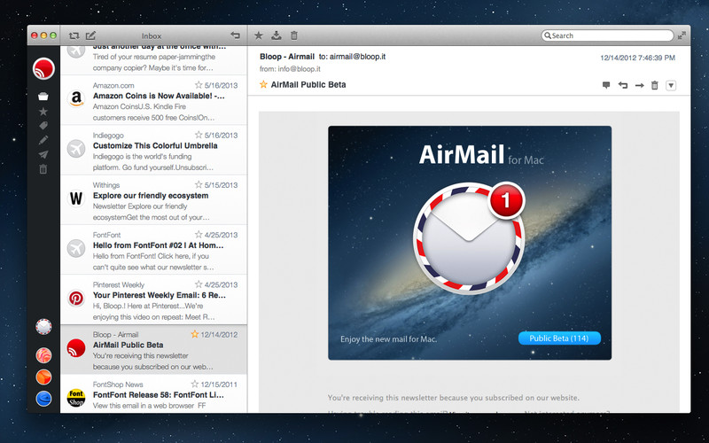 Photo of Airmail, um Cliente de Email poderoso e minimalista para Mac