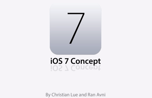 Photo of Conceito bem funcional do iOS 7