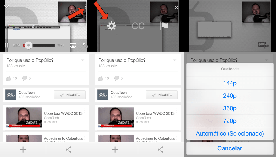 Photo of Como Definir a Qualidade de Vídeo do YouTube.app no iOS