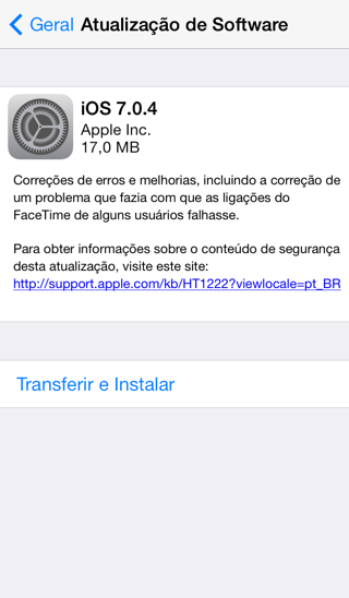 Photo of iOS 7.0.4 na Área