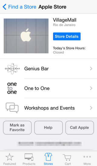 Photo of VillageMall já figura no Apple Store.app, reserva no Genius Bar