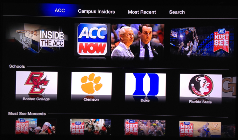 Photo of Novo Canal no Apple TV: ACC Sports