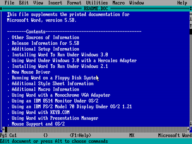 Photo of Liberado fonte do MS-DOS 1.1 e 2.0, Microsoft Word 1.1a para Windows