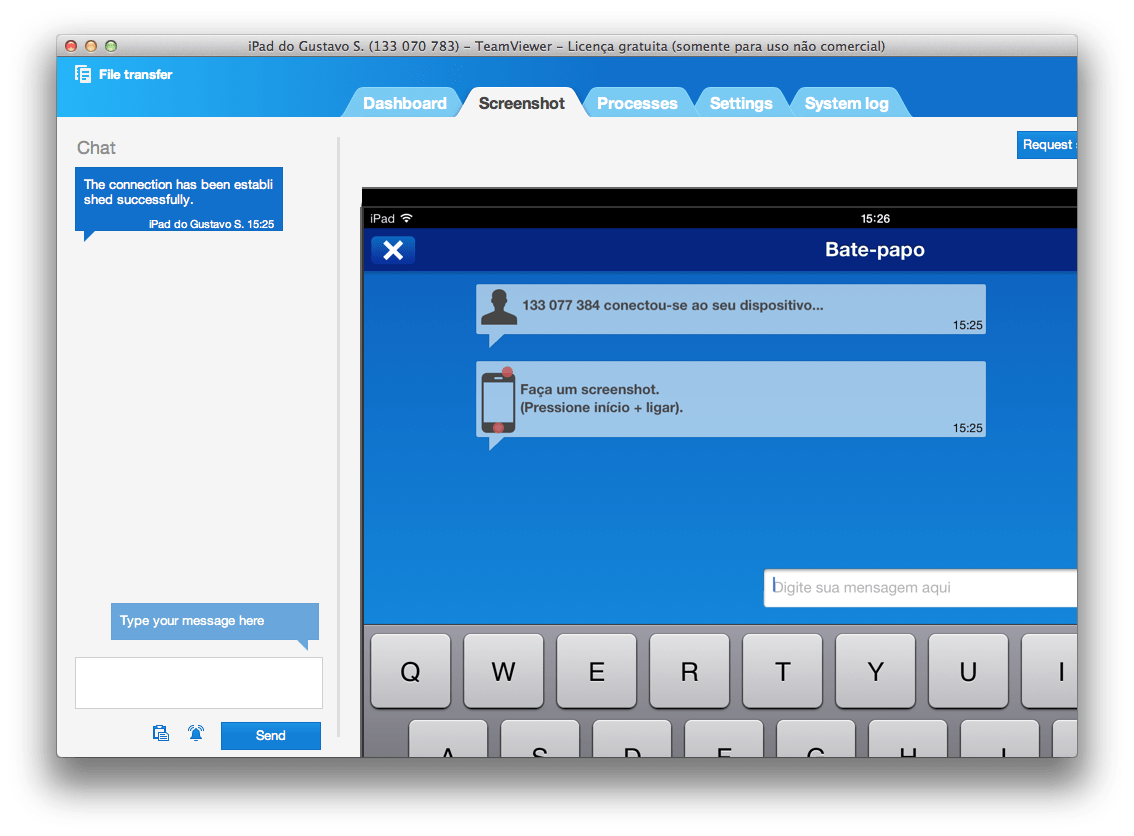 Photo of Acesso Remoto ao iPad com TeamViewer
