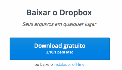 Photo of Dropbox 2.10 na Área, streaming sync