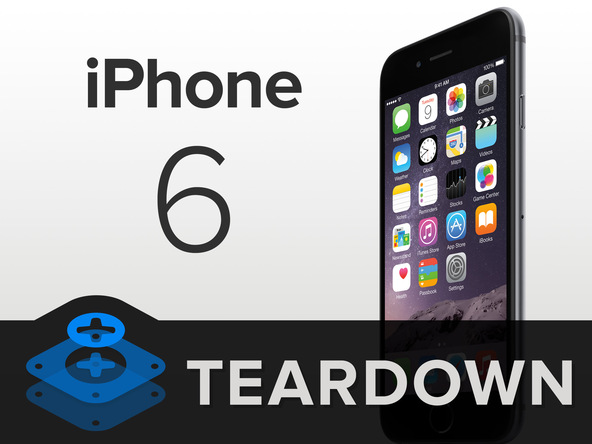 Photo of iPhone 6 Teardown, 1810 mAh