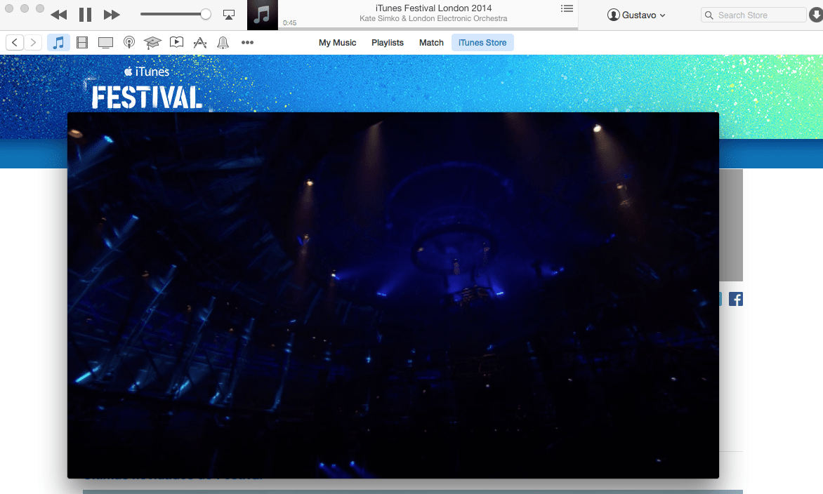 Photo of NO AR – Começou iTunes Festival