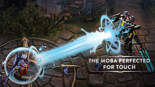 Photo of Vainglory na Área, jogo da Keynote do iPhone 6