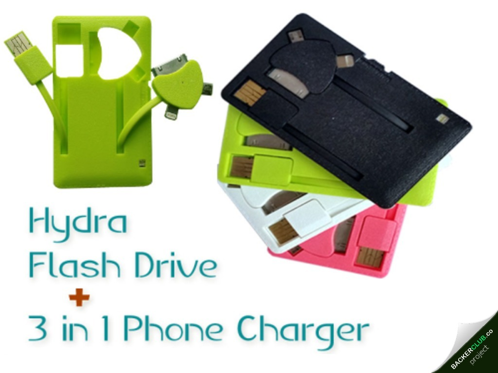 Photo of Hydra Flash Drive, cartão-drive-recarregdor universal