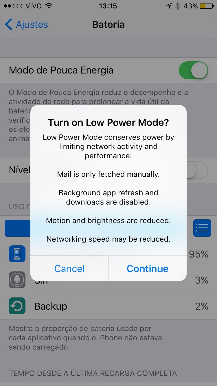 Photo of O que é o Modo de Pouca Energia do iOS 9?
