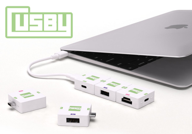 Photo of Cusby, hub modular USB-C