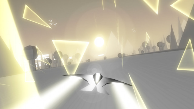 Photo of Race The Sun, game de corrida minimalista e relaxante