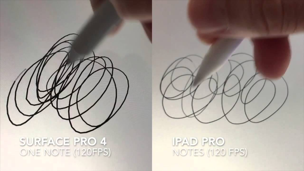 Photo of Duelo: Apple Pencil vs. Surface Pro 4 stylus