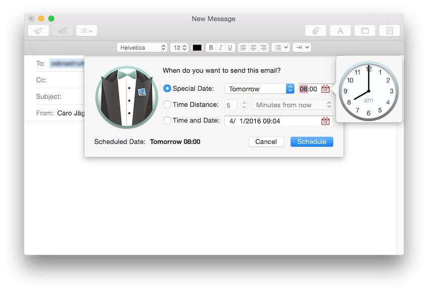 Photo of MailButler, para agendar e-mail no Mail Nativo do OS X