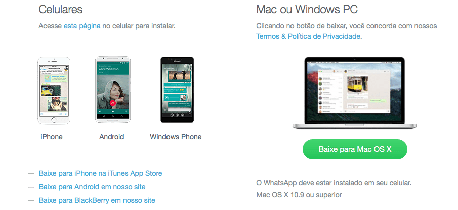 Photo of WhatsApp lança cliente nativo cof cof cof para OS X e Windows
