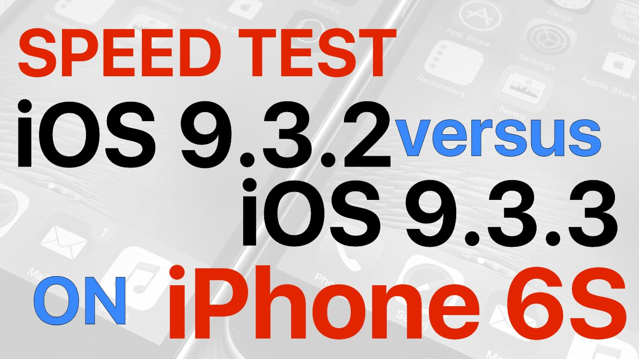 Photo of Duelo de Velocidade: iOS 9.3.3 vs. iOS 9.3.2