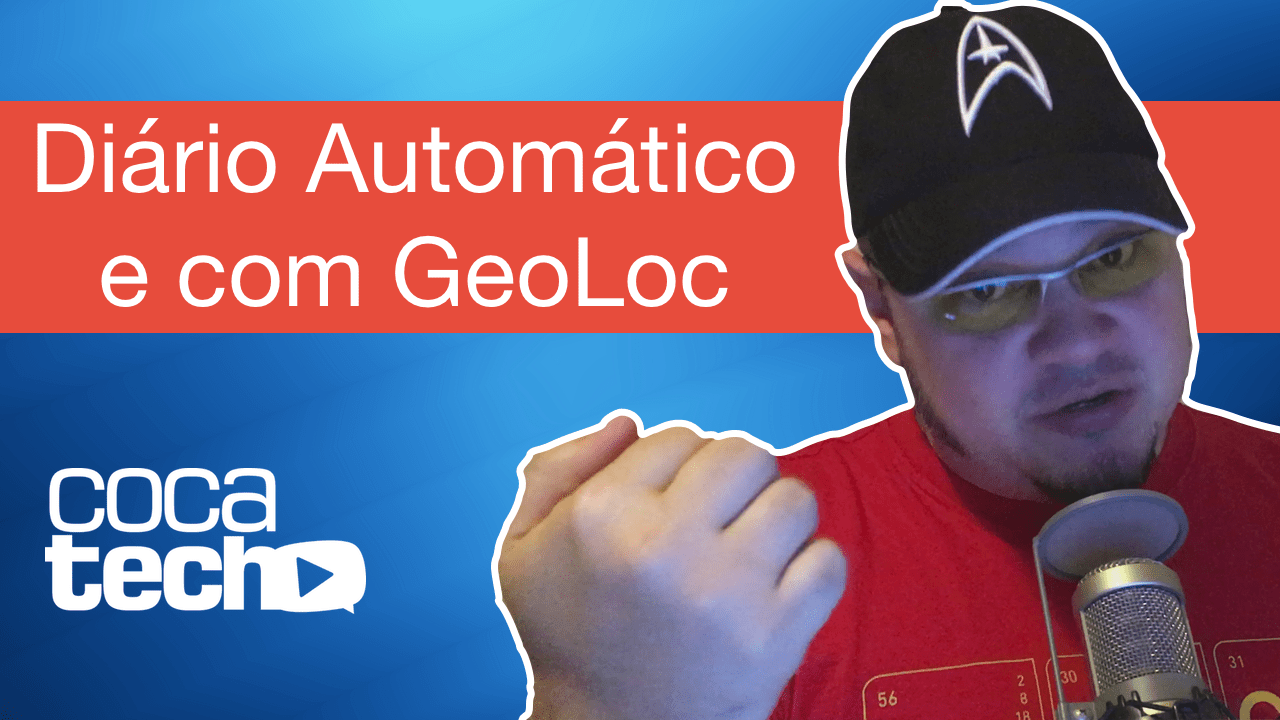 Photo of Diário Automático com GeoLoc? There's an app for that!