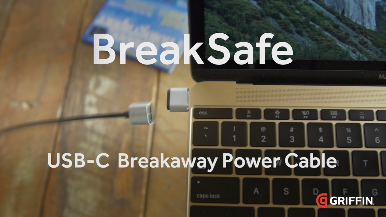 Photo of BreakSafe, USB-C com MagSafe