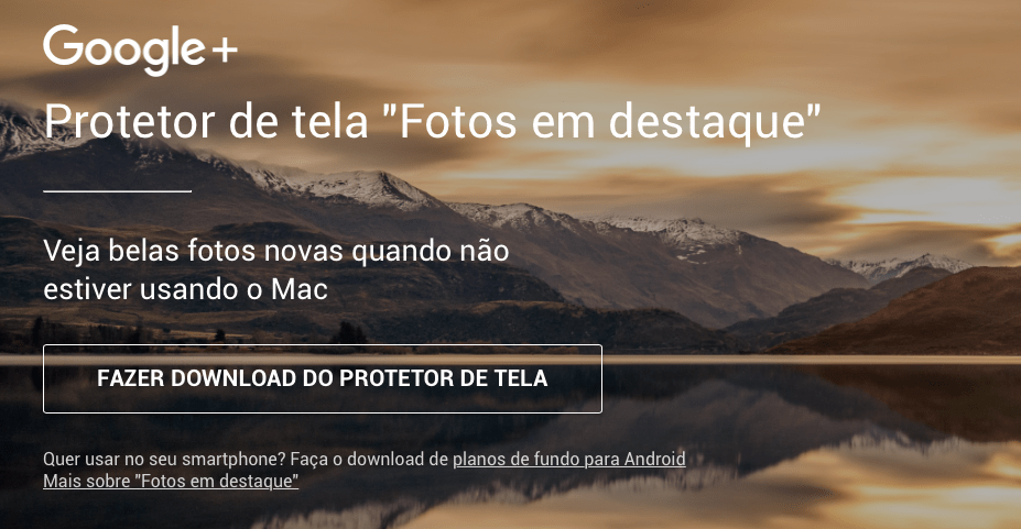Photo of Quer o ScreenSaver do Chromecast no Mac?