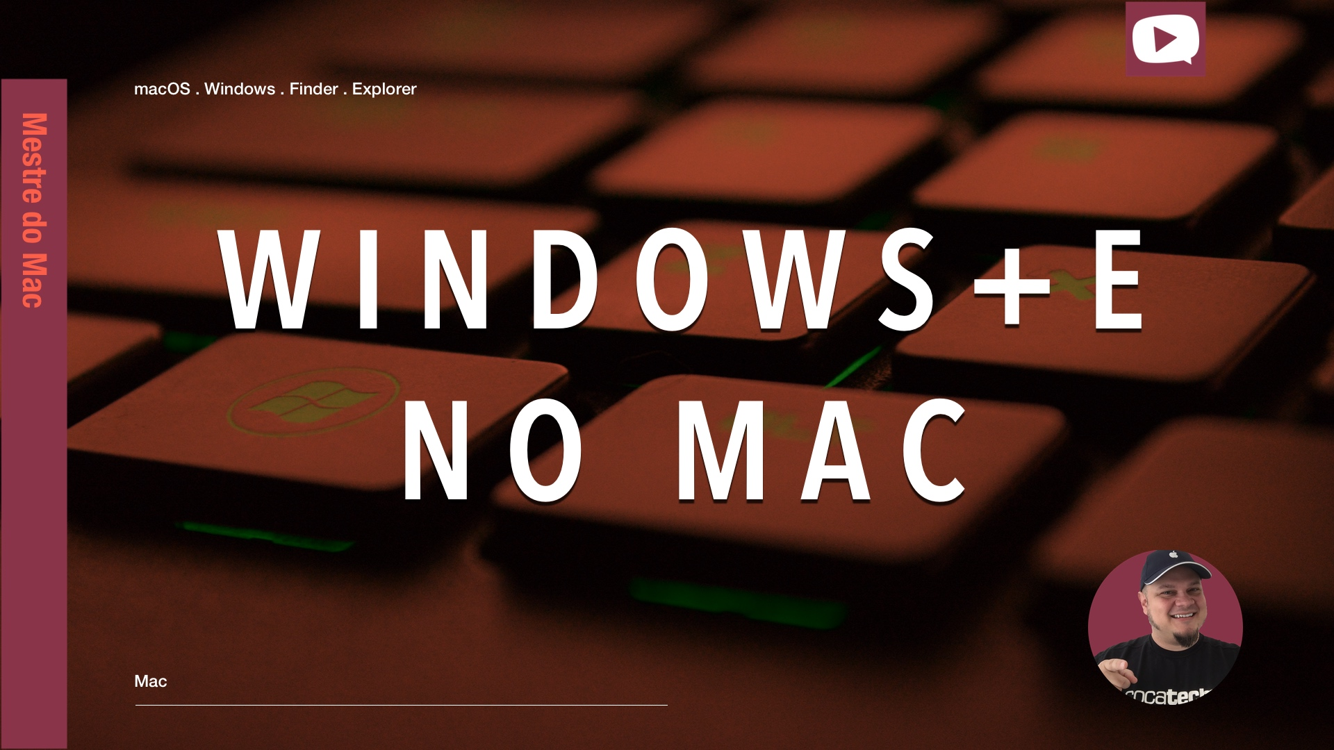 Photo of Windows+E no Mac?! Atalho para Abrir o Finder?!