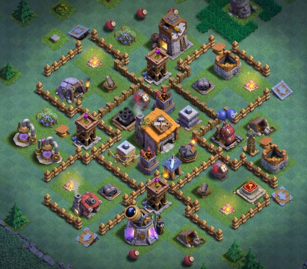 Builder Hall Bh6 Base Anti 1 Star 4000